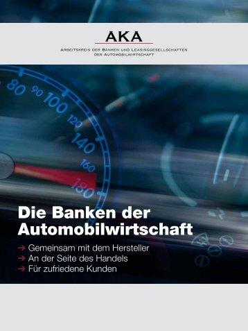 Factsheet Autobanken - Arbeitskreis der Autobanken