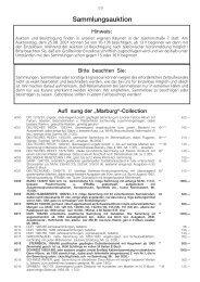 46. Auktion Sammlung.vp - Dr. Reinhard Fischer Briefmarken Auktions