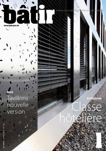 Visualiser pdf - Le journal romand de la construction