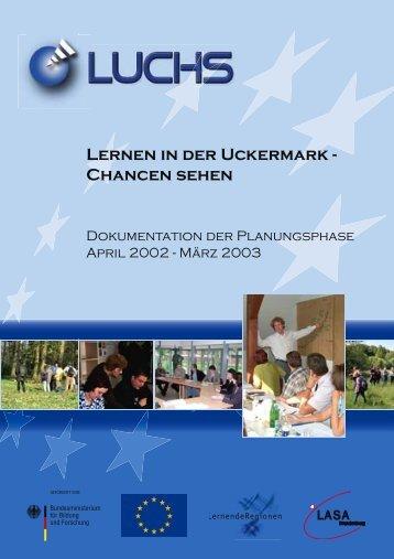 Lernen in der Uckermark - Chancen sehen - LASA Brandenburg ...