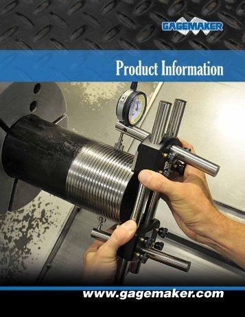 Straight Thread Inspection - Gagemaker
