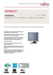 Fujitsu P19-5P ECO