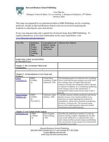 Request for Information - Harvard Business School Press