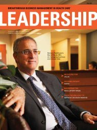 Sentara Healthcare's David Maizel, MD, on managing ... - Amerinet