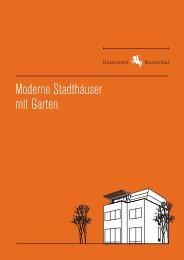 Moderne Stadthäuser mit Garten - Husarenhof Marienthal