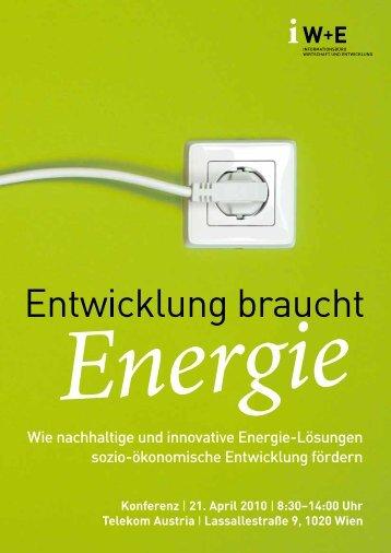 Wie nachhaltige und innovative Energie-Lösungen sozio ...