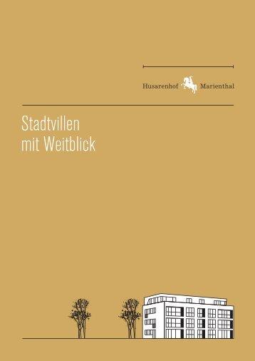Stadtvillen mit Weitblick - Husarenhof Marienthal