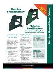 Fletcher Manual Point Drivers - The Fletcher Terry Company