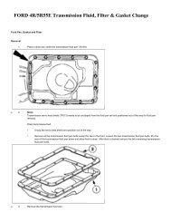FORD 4R/5R55E Transmission Fluid, Filter & Gasket Change