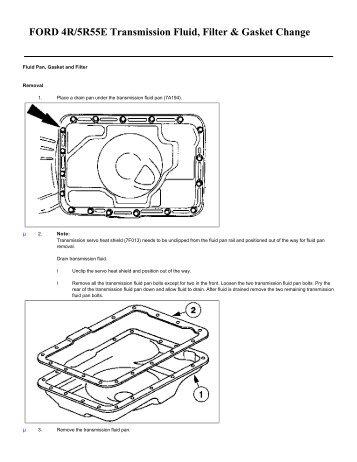 5r55e Diagram Oil   #1 Wiring Diagram Source