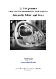 Zu früh geboren (PDF Dokument 540KB) - Heim natur-mensch-tier
