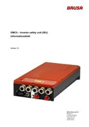 DMC5 -; Inverter safety unit (ISU) Informationsblatt