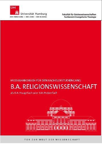 Modulhandbuch - Fachbereich Evangelische Theologie - Universität ...