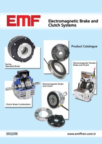 Electromagnetic Brake and Clutch Systems - emffren.com.tr