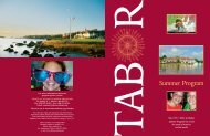 Summer Program - Tabor Academy
