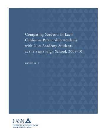 ComparingAcad_ Non-A.. - CASN - University of California, Berkeley