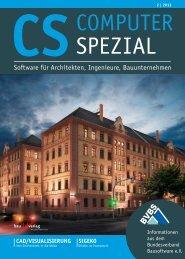 Software für Architekten, Ingenieure, Bauunternehmen