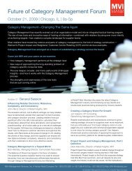 Future of Category Management Forum - Kantar Retail iQ
