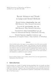 Recent Advances and Trends in Large-scale Kernel Methods
