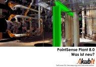 PointSense Plant 8.0 Was ist neu? - download - Kubit GmbH