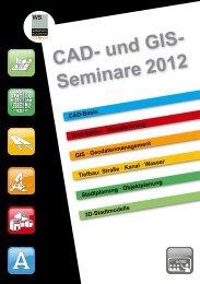 CAD- und GIS-Seminare 2012 - Widemann Systeme GmbH