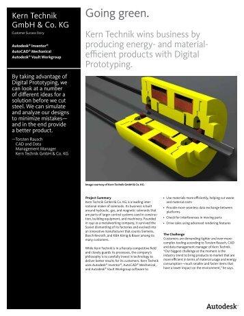 Kern Technik GmbH & Co. KG Customer Success - EMA Design ...