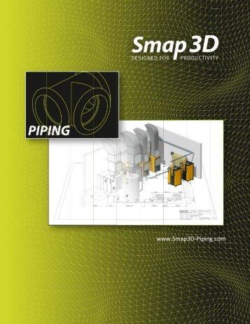 Smap3D Piping - EDM|PDM - PLM