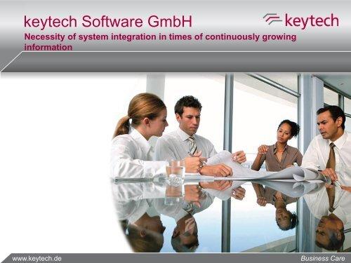 keytech DMS keytech Software GmbH - CADENAS Industry-Forum