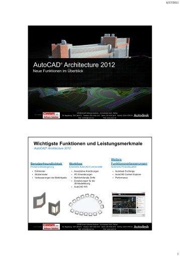 AutoCAD® Architecture 2012 - 3D-Artifex