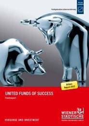 united Funds oF success