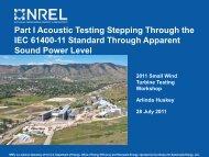 IEC Acoustic Standard IEC 61400-11