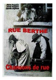 PressBook Nov2010 RueBertheCompr - Compagnie PARABOLES