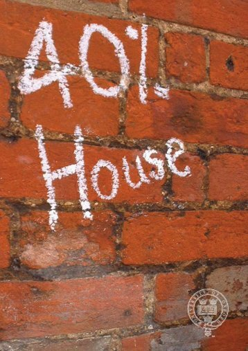 40% House. - Environmental Change Institute - University of Oxford