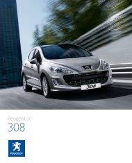 Télécharger le PDF - Peugeot 308