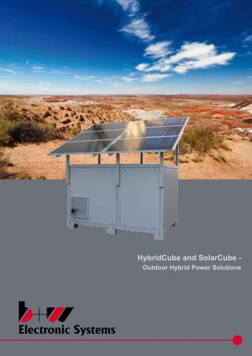 HybridCube and SolarCube - - B+W Electronic Systems GmbH & Co ...