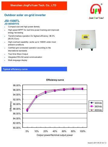 Omnik Three Phase Inverter 13k 15k 17k 20k Tl2