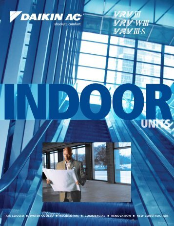 VRV Indoor Units Brochure - Daikin AC