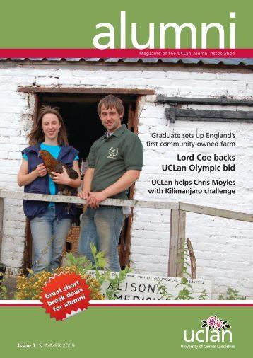 Alumni Magazine Summer 2009 - University of Central Lancashire