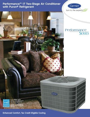 Performance™ 17 Two-Stage Air Conditioner with Puron ... - Favret