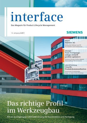 Interface 2/2011 - Siemens PLM Software