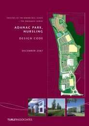 the Design Code - Adanac Park