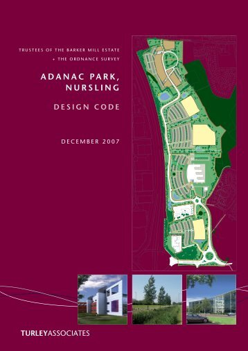 the Design Code - Adanac Park