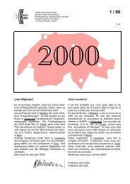 1 / 00 - Schweizerische Gesellschaft für Akustik