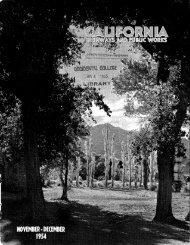 1954 - Periodicals - CALIFORNIA HIGHWAYS AND PUBLIC ... - Metro