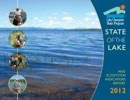OF THE - Lake Champlain Basin Program