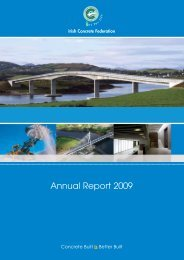 ICF Annual Report '09.indd - the Irish Concrete Federation