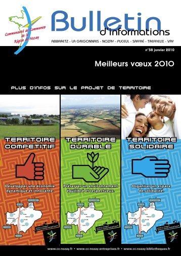 1 - Communauté de Communes de la Région de Nozay