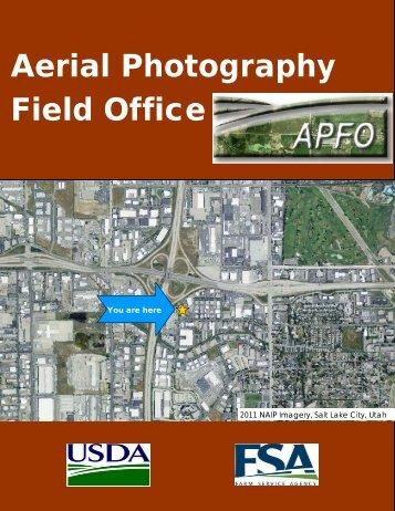 Aerial Photography Field Office - USDA Farm Service Agency - US ...