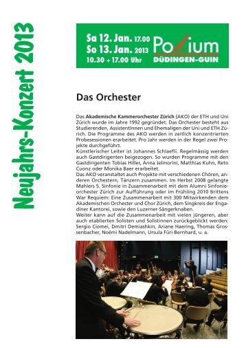 Sa12.Jan.17.00 So 13. Jan.2013 - Düdingen Tourismus