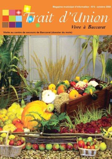 OCTOBRE:Mise en page 1.qxd - Baccarat